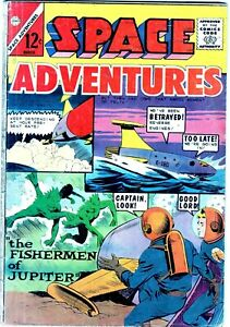 SPACE ADVENTURES #56 - March 1964 Vintage Comic-NO RESERVE!!