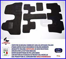 Tappeti Moquette Auto per Fiat Ulysse 7 Posti 2002> Tappeti Antiscivolo NO LOGO