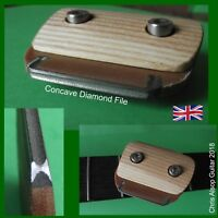 Fret Crowning File System. Changeable DIAMOND Files 2.0mm or 2.5mm or 3.0mm wide
