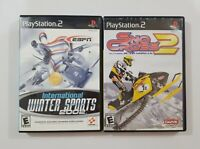 Winter Sports PS2 Game Bundle See Description For Titles Playstation 2
