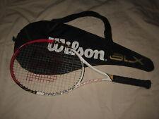 Wilson Pro Staff Six.One 26 BLX Youth Junior Tennis Racquet 4.0 Grip w/ Cover