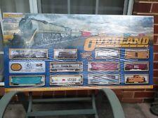 Bachmann Overland Limited Trainset HO scale BNIB