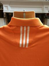 Adidas Climalite Golf Shirt Size Small Orange Tennessee Vols VGC!!!
