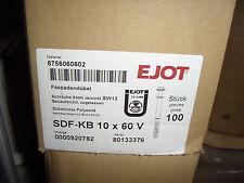 100 Stück EJOT Fassadendübel SDF-KB 10x60 V Sechskantkopf mit Bund