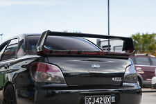 STI Style Trunk Wing Spoiler For 2001-2007 Subaru Impreza RS & WRX (BLACK 32J)