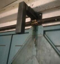 Porte de Garage stop Security BAR Up and over Porte Pack 2 en noir