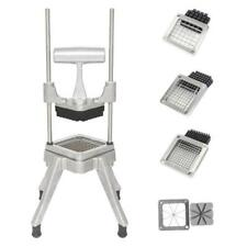 Potato French Fry Fruit Vegetable Cutter Slicer Commercial Quality 4 Blades 2020