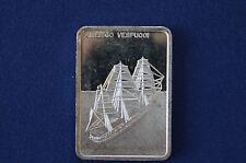 1977 Amerigo Vespucci Italy Last of the Windjammers Colonial Mint Silver P0734