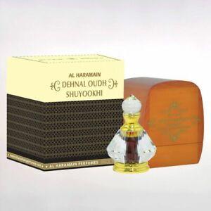 Al Haramain Dehnal Oudh Shuyookhi woody earthy high quality very potent