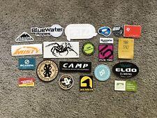 21 Climb Climbing Stickers Black Diamond Patagonia Petzl Scarpa Camp Evolv 5-10
