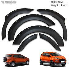 Matte Black Off Road Fener Flares Wheel Arch For Ford Ecosport Hatckback 15 2016