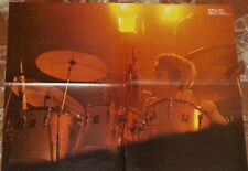 THE WHO  SPANISH FOLD POSTER 1980 POPULAR 1
