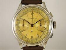 Cronografo Vintage watch Leonidas, pre Heuer, 38,5 mm, Landeron 48, anni '50