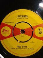 """Inez Foxx-Jaybirds 7"""" Vinyl Single 1964 UK COPY"""