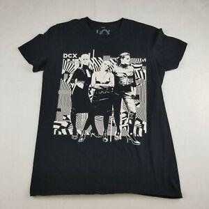 DCX Dixie Chicks MMXVI Tour Short Black Size Small T-Shirt Short Sleeve