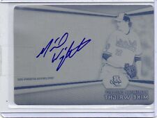 2012 Bowman Platinum Mike Wright Auto Black Printing Plate 1/1 Autograph
