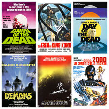 Horror Film Posters Vol.3 Vintage 50s 60s 70s 80s 90s Wall Decor Pub Club Room