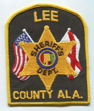 Lee County Alabama Sheriff's Dept. Patch // FREE US Shipping!