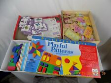 3 Games Discovery Toys Playful Patterns Design Activity Disney Dominoes Alphabet