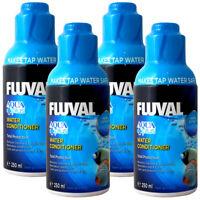 FLUVAL AQUAPLUS 1L (250ml x4 /500ml x2) WATER CONDITIONER NEW FISH TANK TAP SAFE