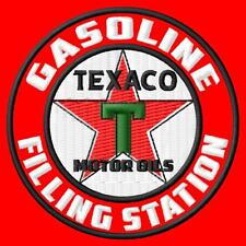 Texaco Filling Station vintage Parche bordado iron-on patch