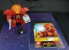 Beast Saga - Light Burst Lion figure with gold card -  Takara Tomy Battle Beasts