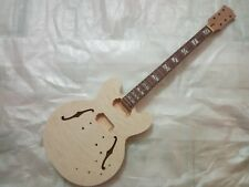Best Unfinished electric guitar body with neck ES335 style guitar kit