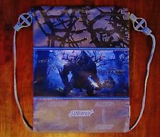 Disney ** MALEFICENT ** Sleeping Beauty NEW Subway Lunch Bag Tote Backpack