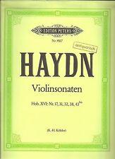 Haydn - Sonaten für Violine und Klavier