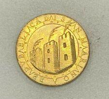 Monnaie SAN MARINO/SAINT MARIN 200 LIRES 1992 PRESQUE NEUVE