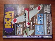 $$4 Revue RCM N°201 Plan encarte Cap Monster  Sukhoi SU 26 mx  Nakajima Ki 27b