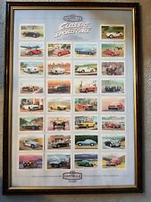 More details for framed castella display classic cars cigarette cards collection framed picture