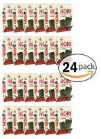 Organic Seasoned Roasted Seaweed Snacks 24 Individual Pack Sweet Spicy Kim Nori