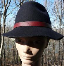 GENIE by Eugenia Kim ~ Black 100% Wool Ladies Hat ~ One Size