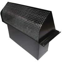 DAYTON 45PE72 Wall Cap, Steel 3-3/8 x 10-1/4 In