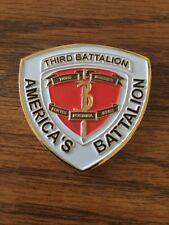3rd Bn 3rd Marines Regimental Combat Team 6 OIF 06-08.2 AL ANBAR Challenge Coins