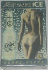 Kampai Alcohol Ice Playing Cards