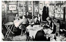 RPPC,Bardstown,KY.,Old Talbott Tavern,Coffee Shop,Interior,c.1950s
