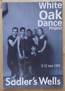 White Oak Dance Project programme Sadler's Wells Theatre June 1999 Raquel Aedo