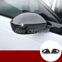 Für Range Rover Evoque ABS Karbonfaser-Stil Spiegelkappen Außenspiegel Rahmen