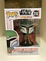 COVERT MANDALORIAN FUNKO POP STAR WARS THE MANDALORIAN #352