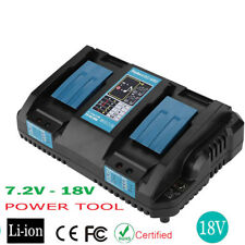 Replace Makita DC18RD Dual Port 14.4-18V Rapid Battery Charger For BL1830 1850