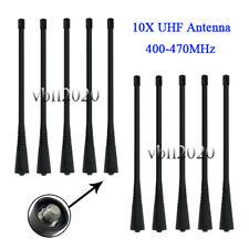 10x UHF Long Antenna For MOTOROLA CP185 CP200 PR400 HT750 HT1250 GP680 P200 SP10