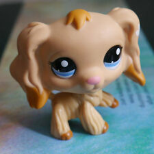 "LPS #1716 COLLECTION Figure pale brown Cocker DOG TOY 2"" LITTLEST PET SHOP"