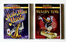 Disney's Make Mine Music & Melody Time 2 DVD Movie Set 16 Famous Cartoon Shorts