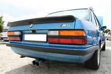 Oldtimer BMW E28 boot spoiler trunk ducktail lip duck tail bill duckbill M5