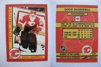 2015 SCA Doug Dadswell Calgary Flames goalie never issued produced #d/10 rare