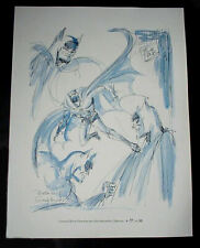 "JOHN MAIORIELLO ""BATMAN'S SCRAPBOOK"" LIMITED EDITION #97/500 PRINT by BOB KANE"