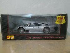 1:18 Maisto Special Edition- Mercedes  CLK- GTR Street  Version  Diecast Model