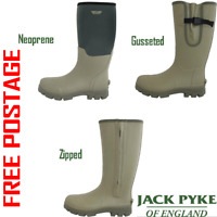 JACK PYKE ASHCOMBE ALL STYLE WELLINGTON WELLY BOOTS HUNTING HUNTER SHOOTING FISH